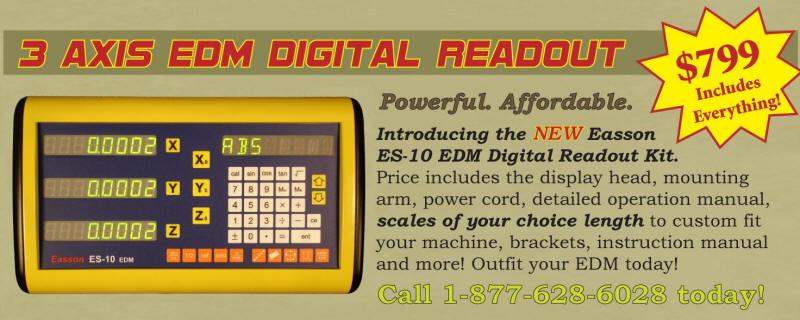 EDM DRO Kits