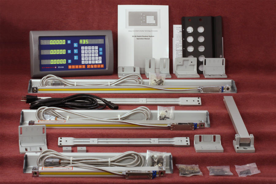 Easson digital readout kit for a milling machine only $699!