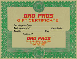 A gift certificate makes the best gift!
