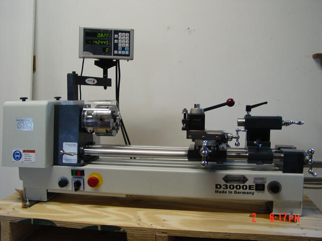 Fagor 2 axis glass scale lathe kit