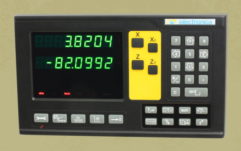 6 Year warranty / Magnetic scales / Machine Specific Displays