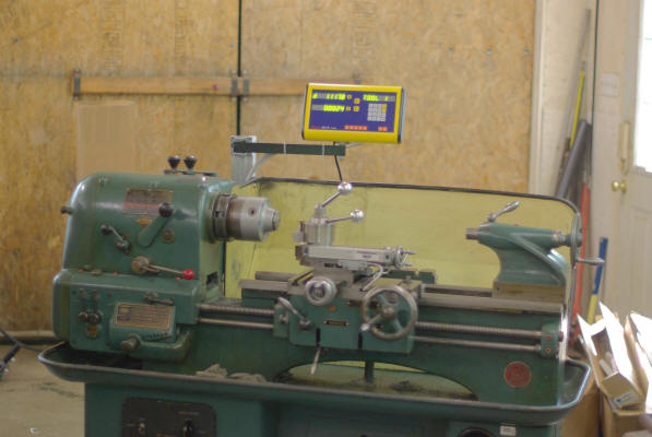 Custom 3 axis EASSON glass scale lathe kit