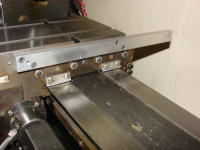 "Mounting a ""backer bar"" for the cross slide scale"