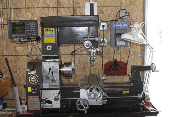 "300 series magnetic kit on a Smithy 1324 ""3 in 1"" machine!"